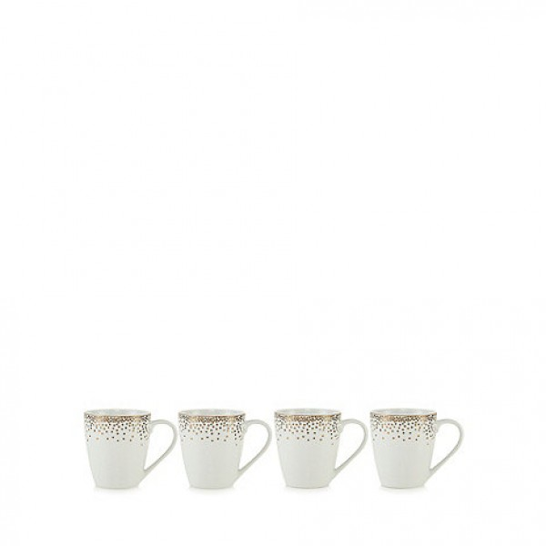 Taškuotų puodelių rinkinys x 4