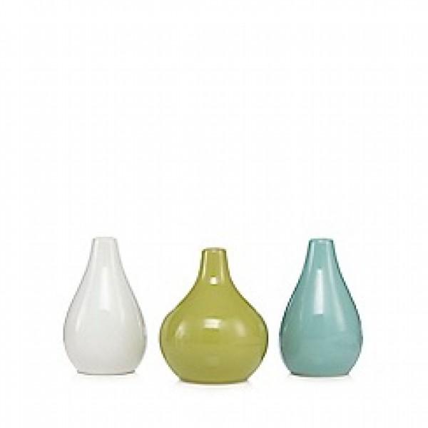Keramikinių vazelių rinkinys x 3