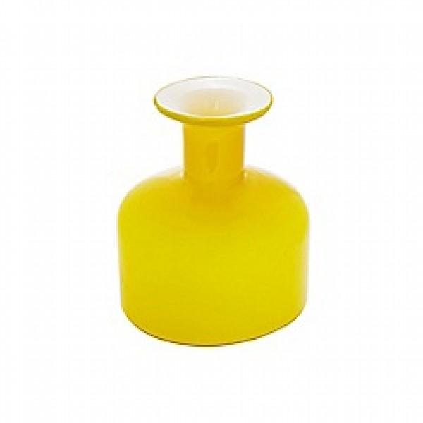 Stiklo vaza geltona, Ben de Lisi