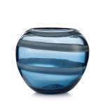 Stiklo vaza mėlyna,  RJR.JOHN ROCHA