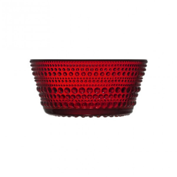 Stiklo dubuo raudonas 230 ml, IITTALA