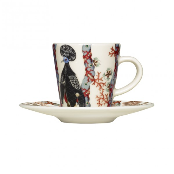 Espresso puodelio su lėkštute rinkinys x 2, IITTALA