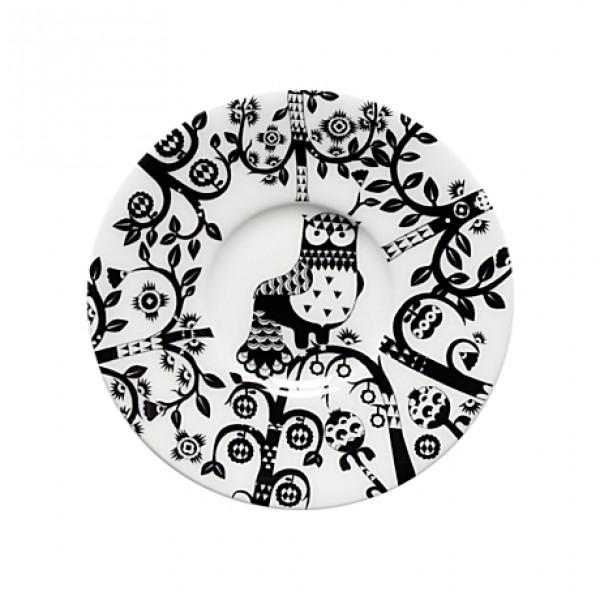 Lėkštutė espresso puodeliui juoda 11 cm, IITTALA
