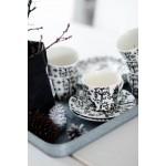Lėkštutė puodeliui juoda 15 cm, IITTALA