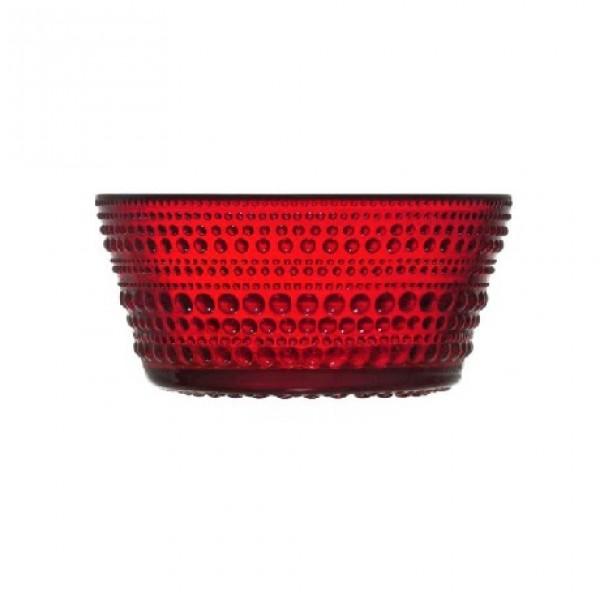 Stiklo dubuo spanguolių raudonumo 230 ml, IITTALA