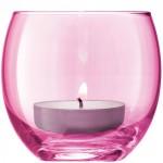 Žvakidės pastelinių spalvų x 4 POLKA