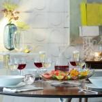 Baltojo vyno taurės x 2 OLIVIA