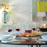Raudonojo vyno taurės x 2 OLIVIA
