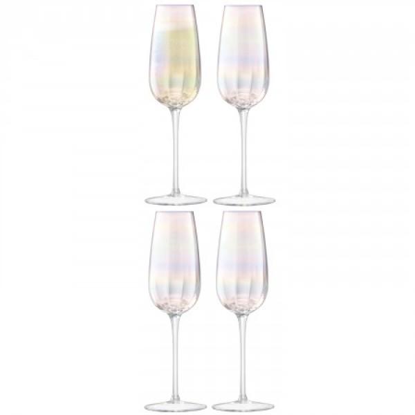 Šampano taurės x 4 PERLAS