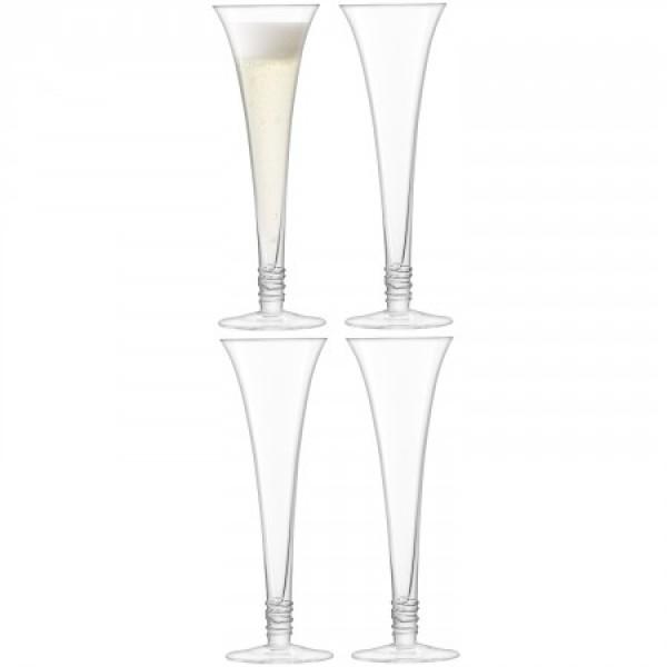 Vyno taurės x 4 PROSECCO
