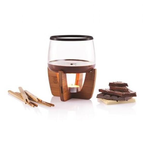 Šokolado fondiu rinkinys COCOA