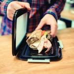 Dėklas maistui su silikoniniu dangteliu, FOOD SKIN