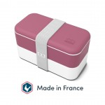 Maisto dėžutė Original rožinė, MONBENTO