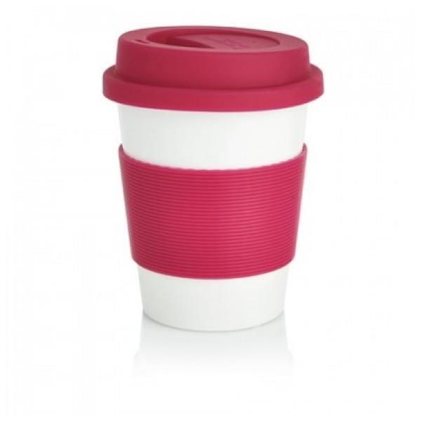 Ekologiškas puodelis, rožinis