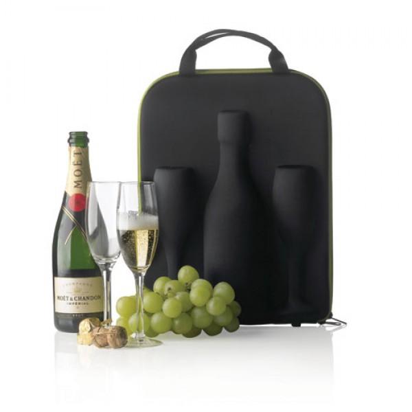 Šampano krepšys su taurėmis, XD DESIGN