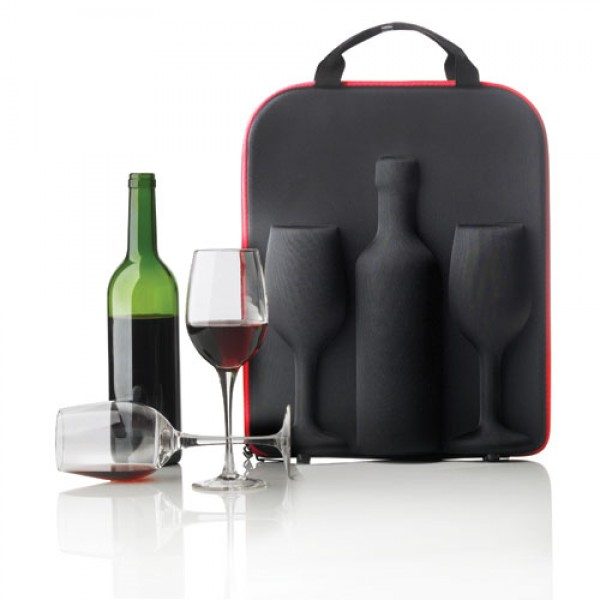 Vyno krepšys su taurėmis, XD DESIGN